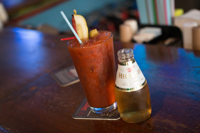 The WingDam Saloon & Grill Bloody Mary