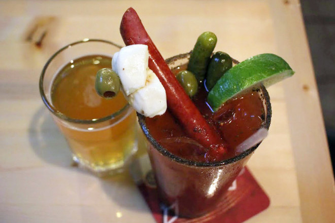 Lucky's on Third Bloody Mary