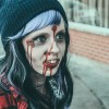Megan Hanson at Winona Zombie Crawl 8